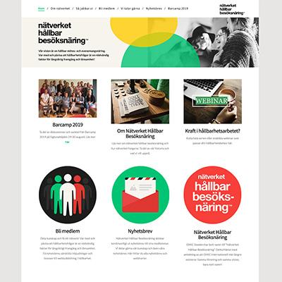 Nätverket Hållbar besöksnäring Startsida
